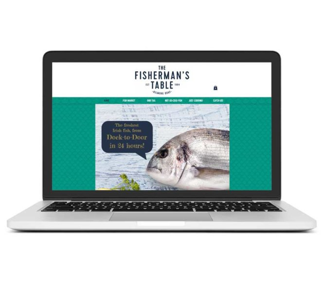 Creative Works | Fishermans Table Brand Identity