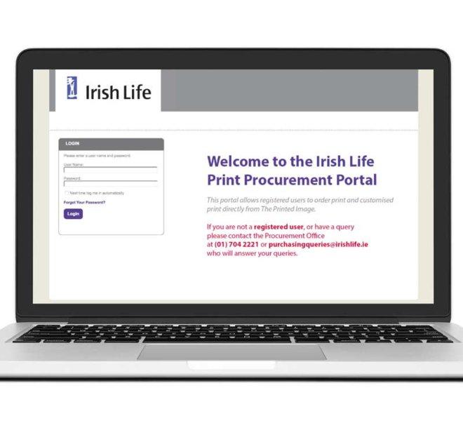Creative Works | Irish Life E-Commerce Website