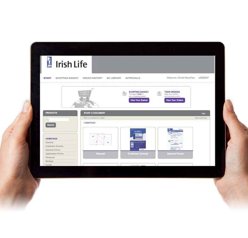 Irish Life E-Commerce