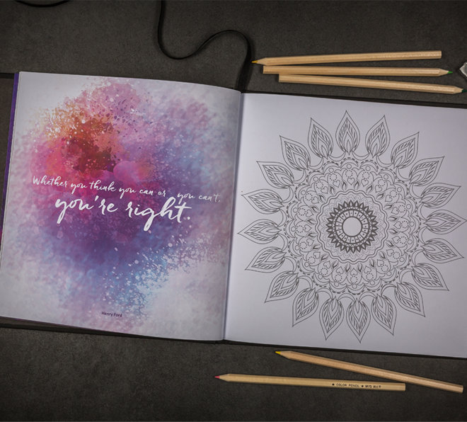 Creative Works | Mindfullness Brochure