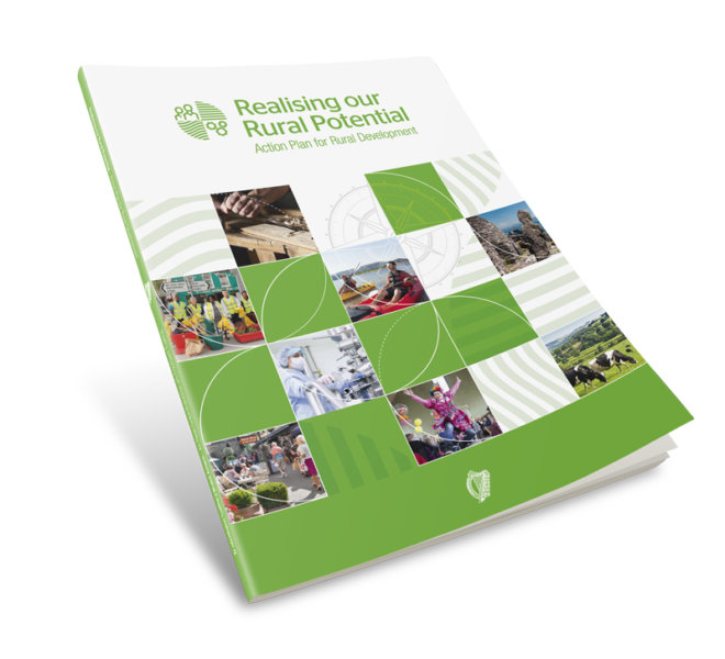 Creative Works | Rural Ireland Brochure Report
