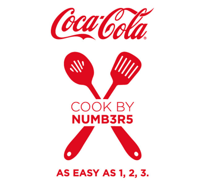 Creative Works | Coca-Cola Cook by Numbers