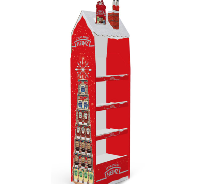 Heinz Christmas Display Unit