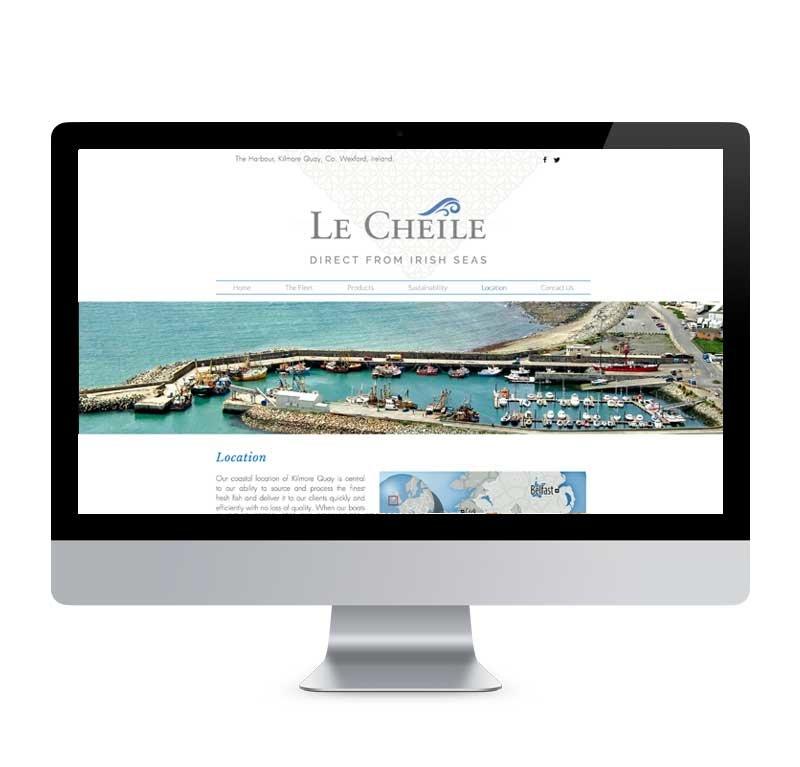 Le Cheile Website