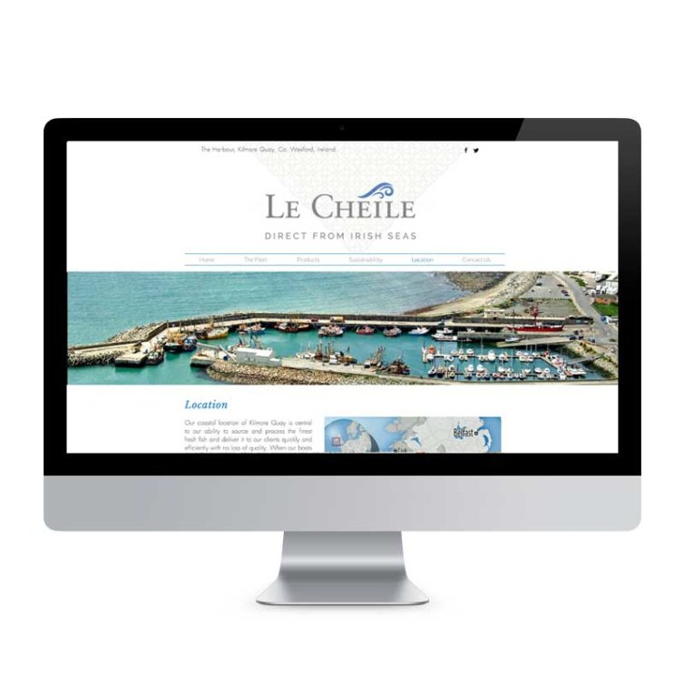 Le Cheile Website
