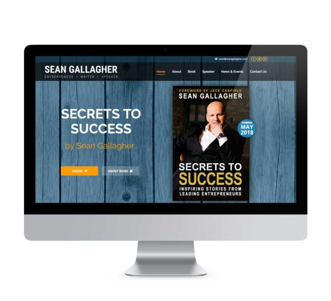 Creative Works | Sean Gallagher Website Development